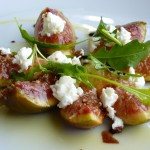 Tree Foshee's Figs with Goat Cheese and Aged Balsamic